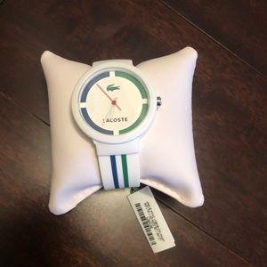 New Lacoste watch